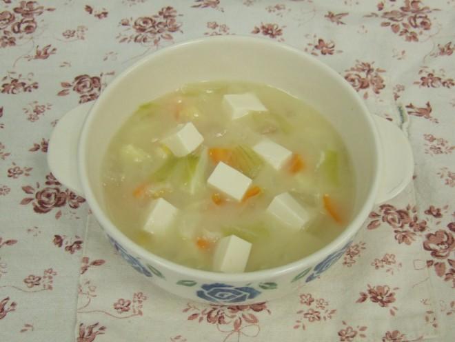 お豆腐シチュー