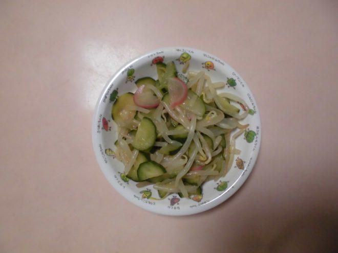 きゅうりとラディッシュのサラダ