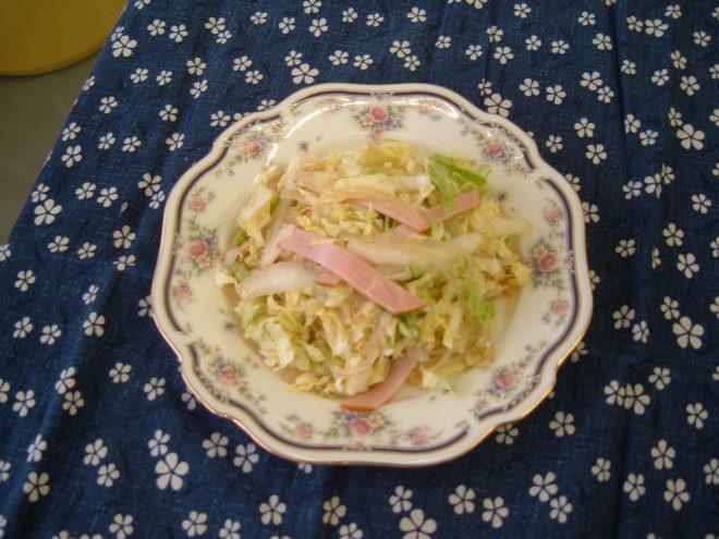 白菜のピリ辛春雨サラダ