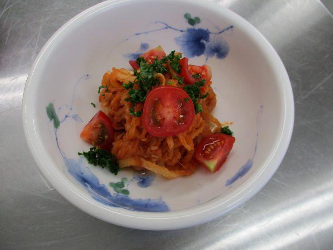 切干大根のトマト煮