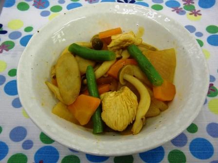 根菜のカレー煮