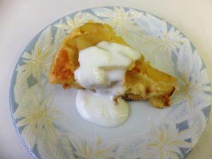 りんごの簡単ケーキ