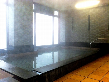 浅草山荘 かけ流し温泉の浴室