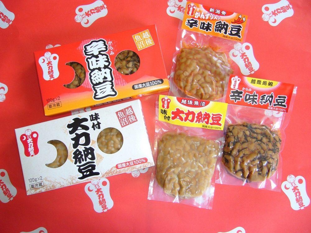 大力納豆 商品一例