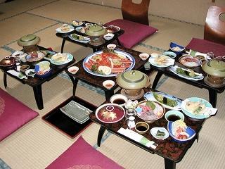 銀泉荘 お料理