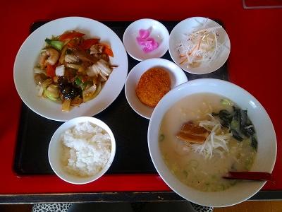 百福宴 八宝菜ランチ