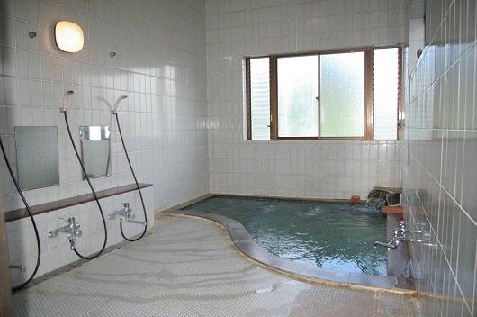 一力旅館 浴室
