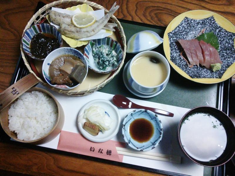 日本料理いな穂 おすすめ膳
