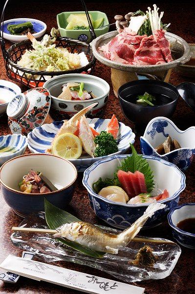 湯元庄屋 和泉屋旅館 お料理