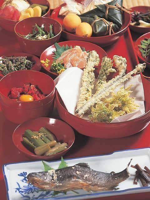 駒の湯山荘 お料理