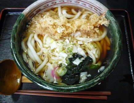 小松屋 天ぷらうどん
