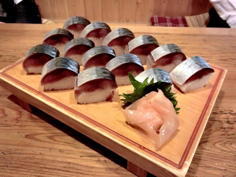 みはる 鯖寿司(要予約)