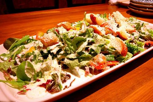 ROSSO 彩り野菜のシーザーサラダ