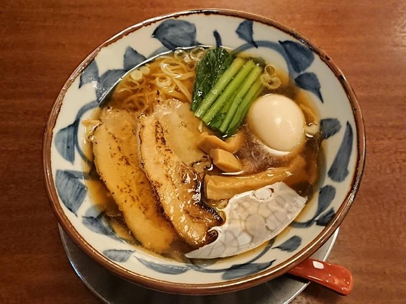 三宝亭 煮干し醤油ラーメン