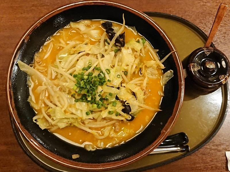 三宝亭 野菜たっぷり味噌ラーメン