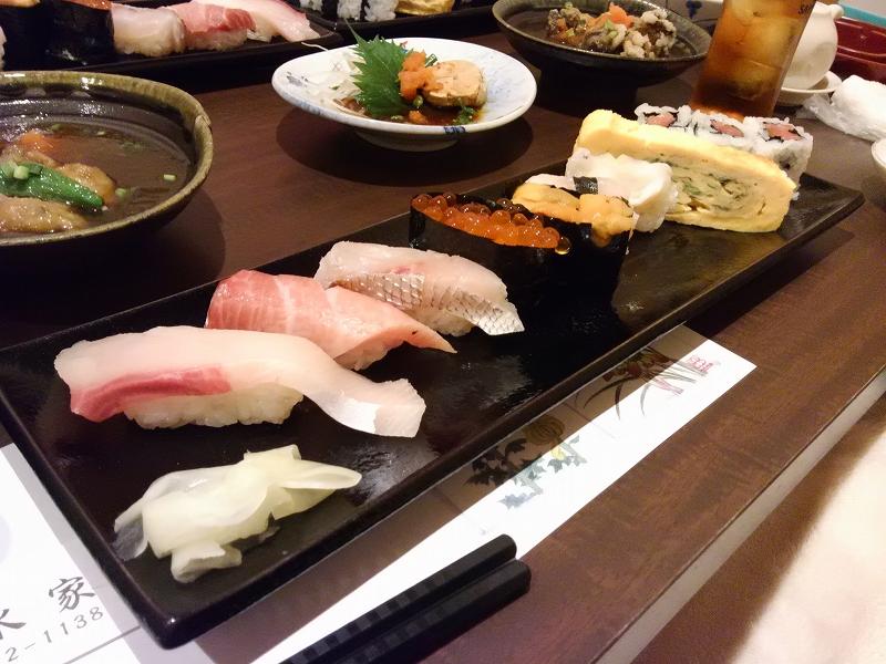 清水家 にぎり寿司