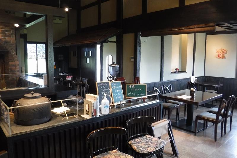 うおぬま茶房 店内