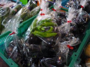 湯之谷交流センター ユピオ 野菜