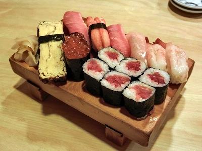 ふきだまり お寿司