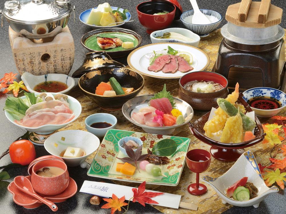 ホテル湯元 料理一例