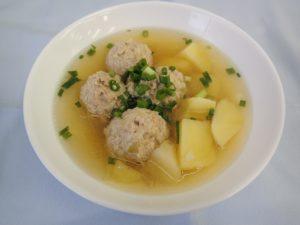 えのきの肉団子スープ